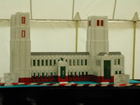 My Cathedral model, on display at Merstham